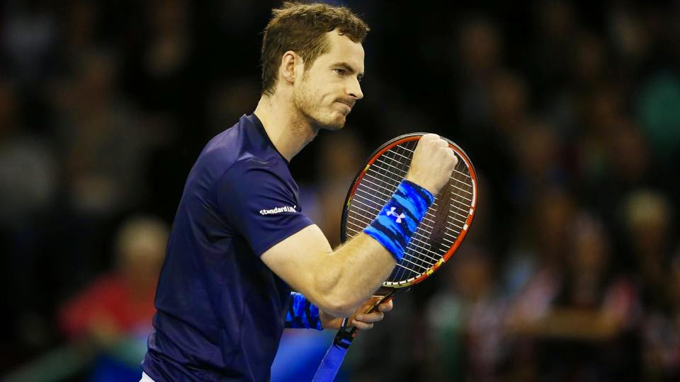 Andy Murray Secures Victory For Britain Over USA
