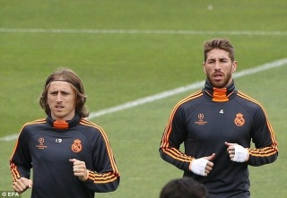 Modric & Ramos focused on El Clásico return