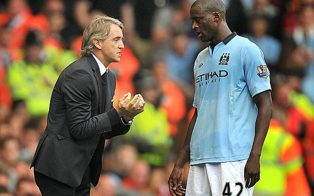 Mancini Desperate To Have Toure Don Inter Colours