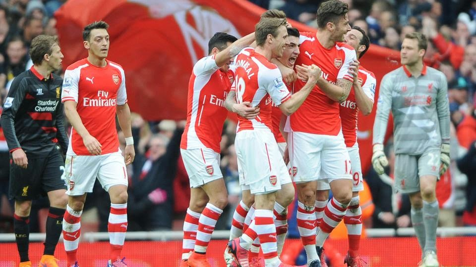 Arsenal Dents Liverpool Top Four Chances