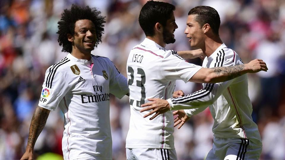 Ronaldo Piles Pressure On Barca As Madrid Dismantles Eibar