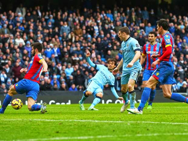 Man City's Title Hopes Dims With Loss Against Crystal Palace