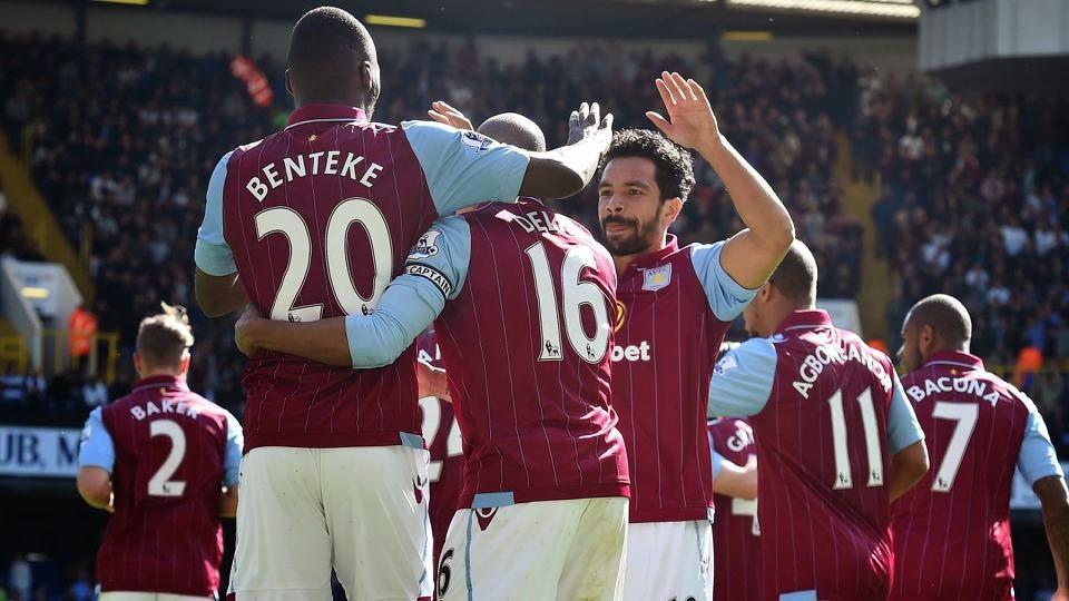Benteke Wins It For A'Villa Against Tottenham