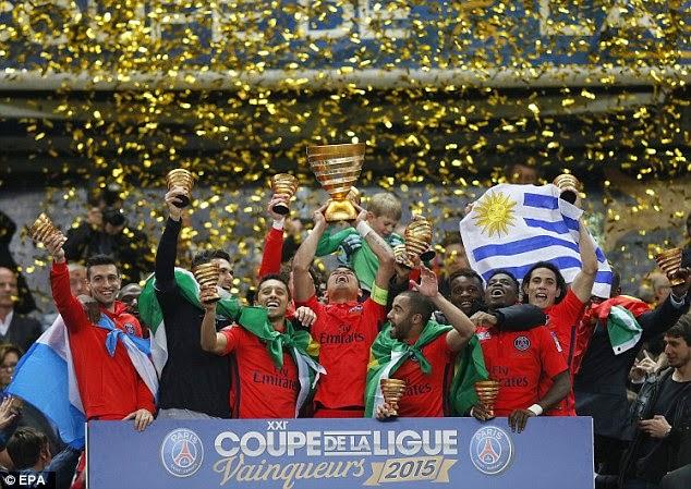 Zlatan, Cavani Score As PSG Win French Cup