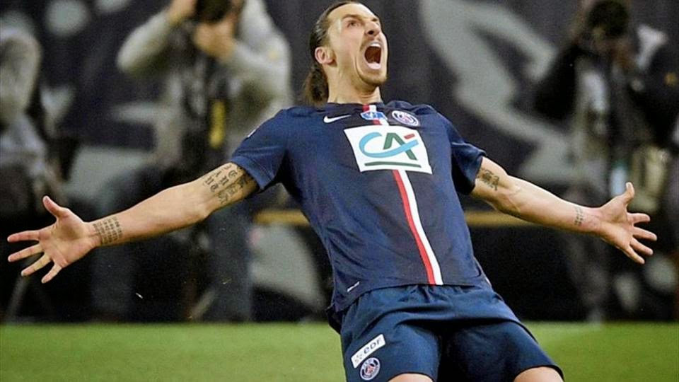 Zlatan Hat-atrick Sends PSG into French Cup final