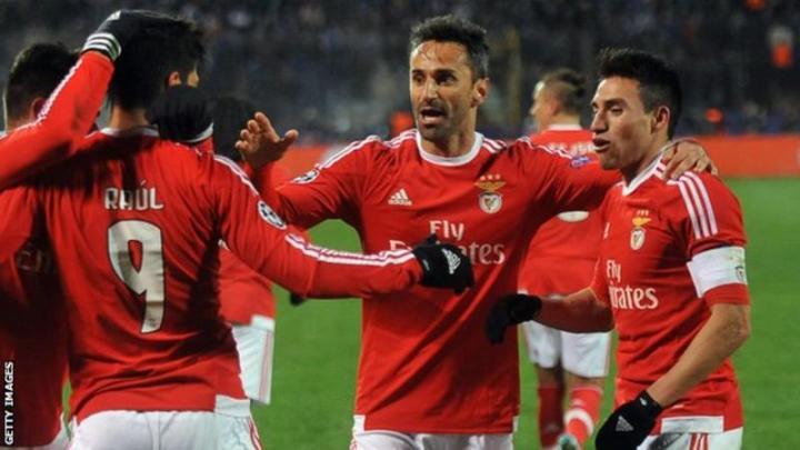 Benfica Defeat Zenit Away To Reach Q'Finals
