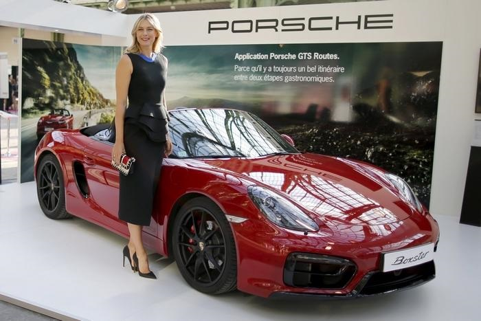 More Woes Befall Sharapova As Porsche Suspends Her As Brand Ambassador