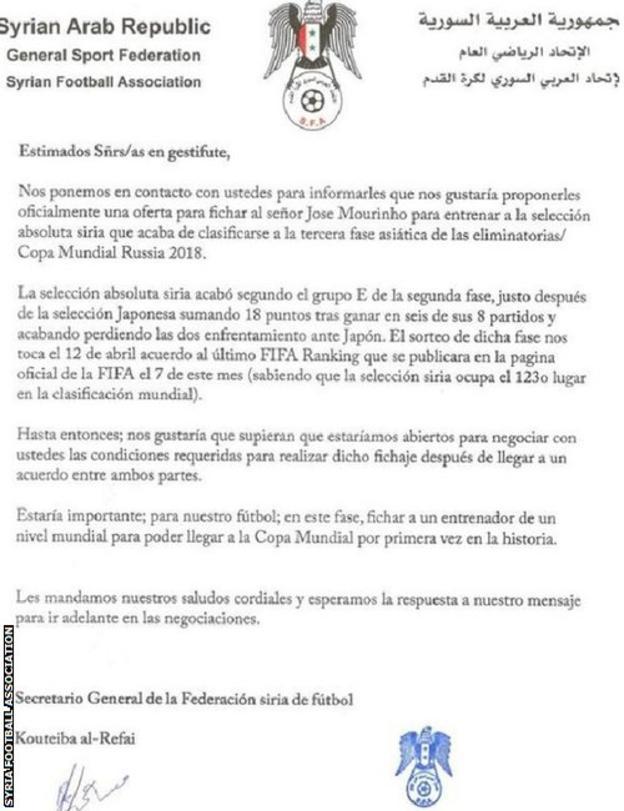 Syrian letter