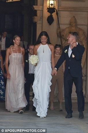 Football Meets Tennis As Schweinsteiger Weds Ana Ivanovic . - Copy